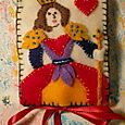 Queen of Hearts Needlebook
