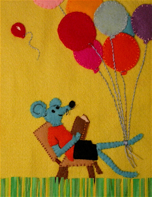 Mouse Selling Balloons