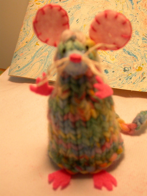Multi-pastel colored mouse